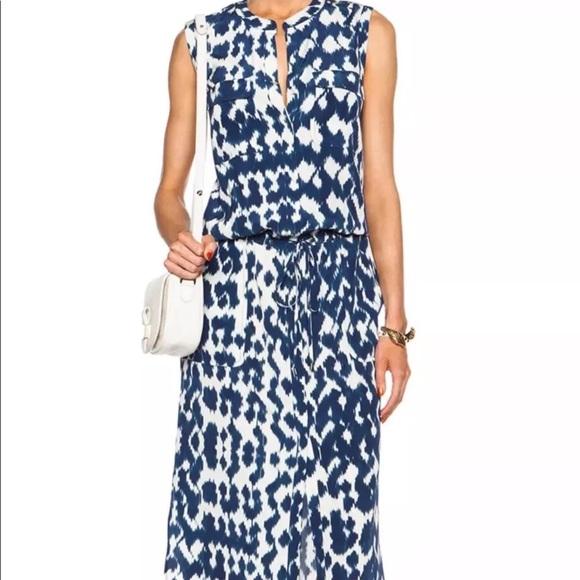 Vince Dresses & Skirts - Vince Ikat silk dress #180205004